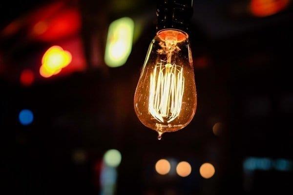 Innovation bright idea