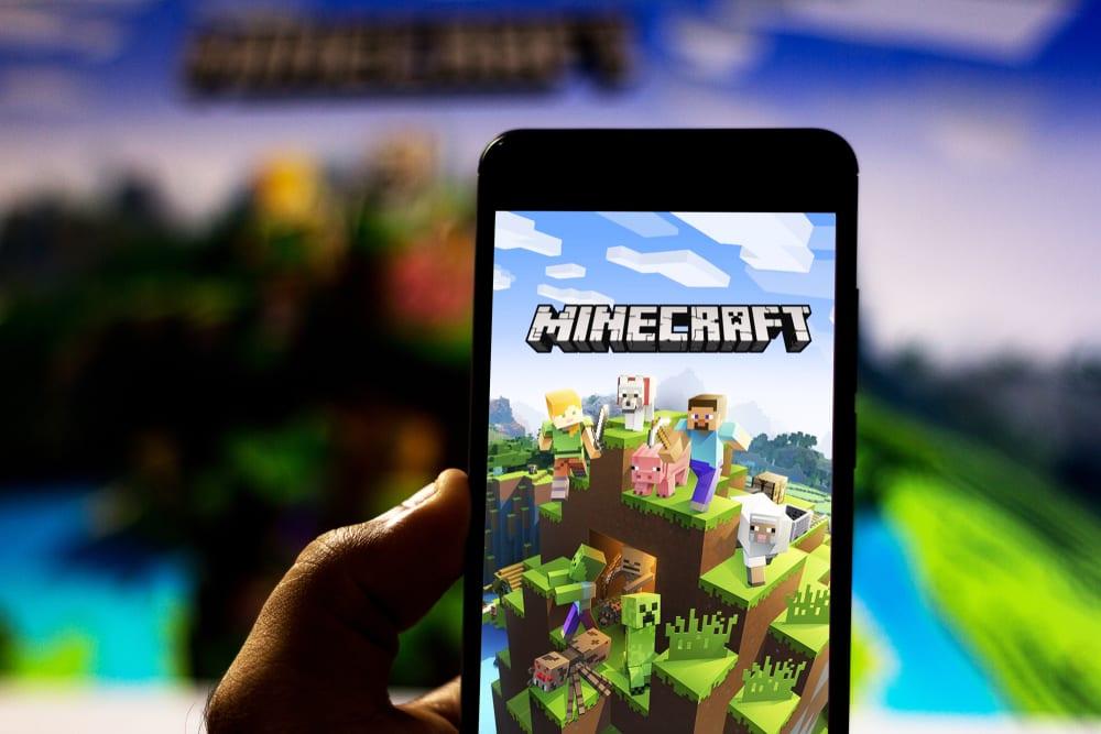 Minecraft on mobile